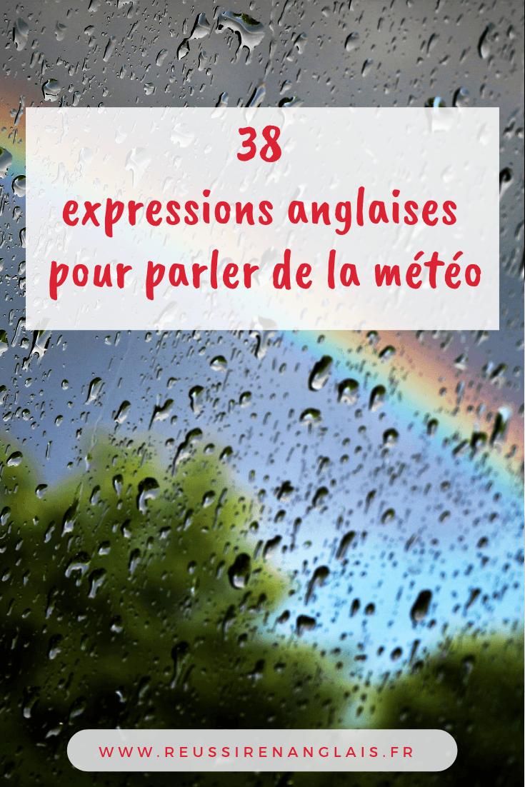 parler de la météo en anglais
